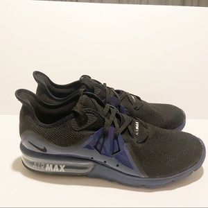 Nike Air Max Sequent 3 SE Blue AJ1706 001 Men' Running Shoes